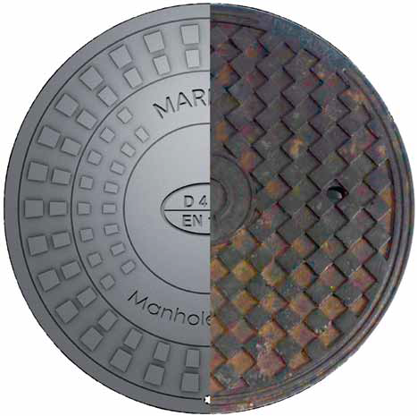 Marmox Manhole Covers without Rust Or Corrosion